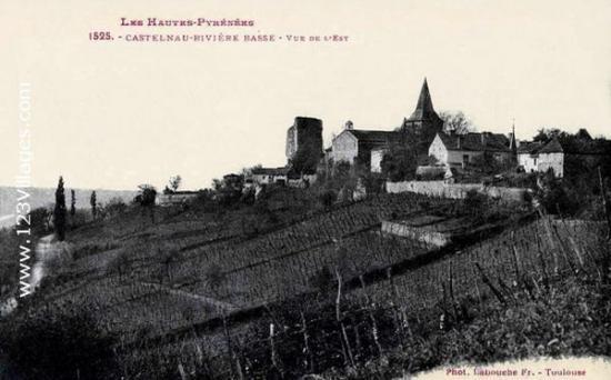 Castelnau face Est