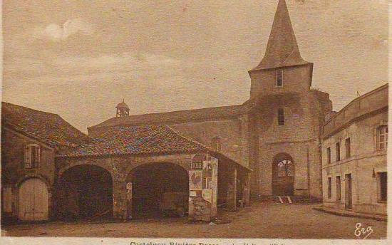 La halle et l'église