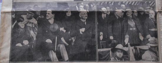 Les personnalites presentes a l inauguration